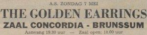 Golden Earrings show ad Brunssum - Zaal Concordia