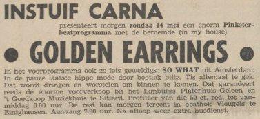 Golden Earrings show ad Einighausen (Limburg) - Instuif Carna